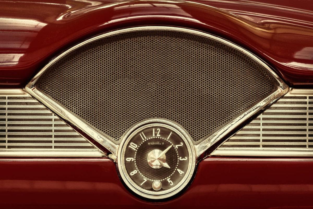 Red Car Clock