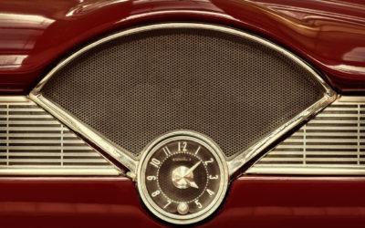 Red Car Clock