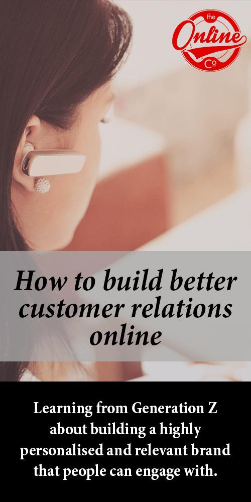 customer relations online