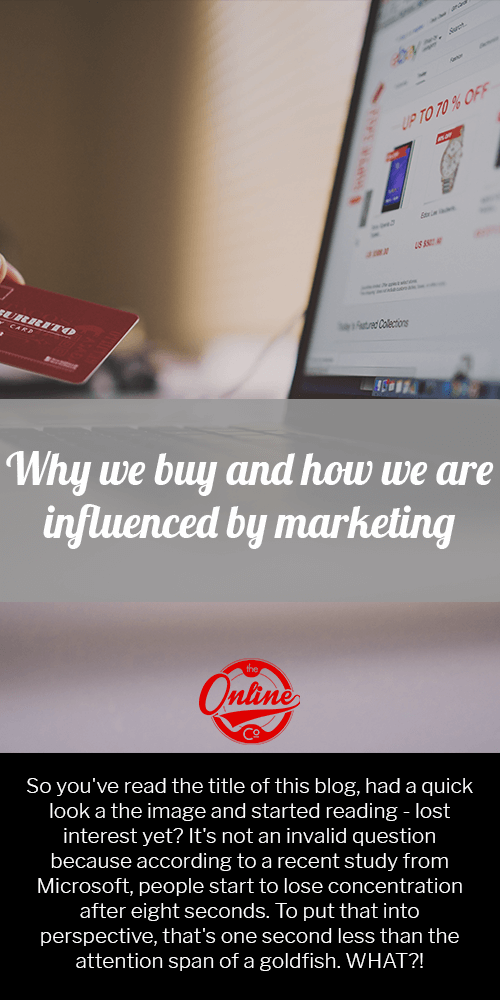 how we are influenced by marketing