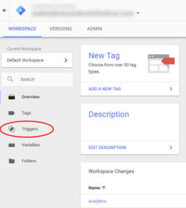 Creating Triggers and Tags Step 3