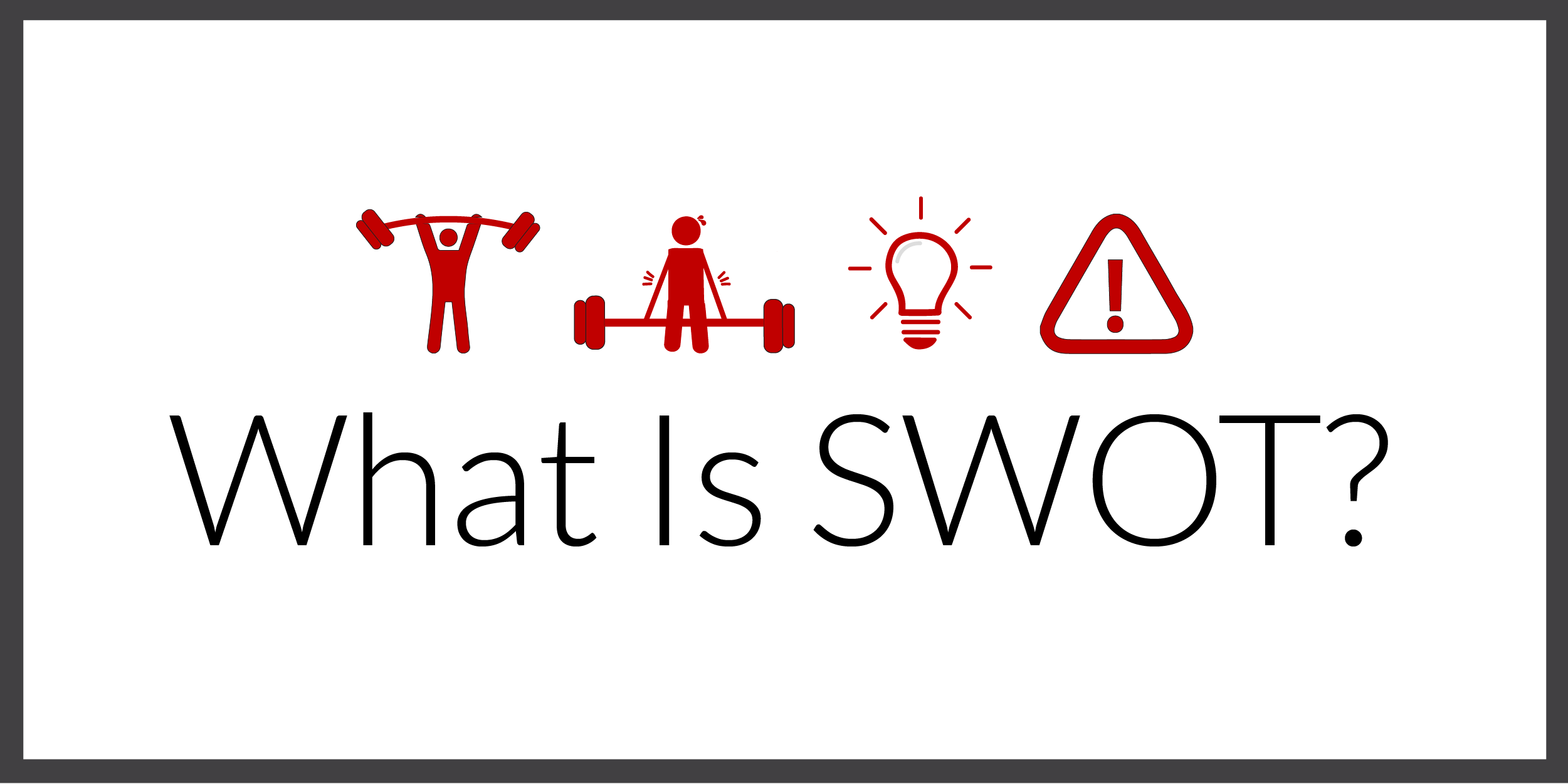 What Is SWOT?