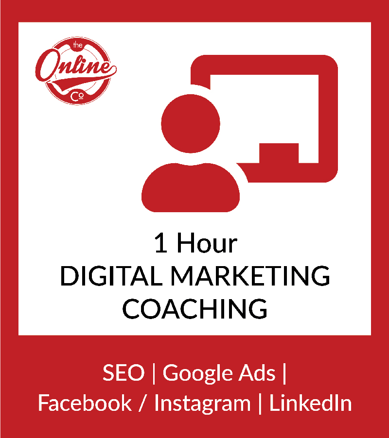 1 Hour Digital Marketing Coaching Session