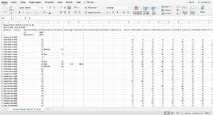 Keyword Map in Excel Step 3