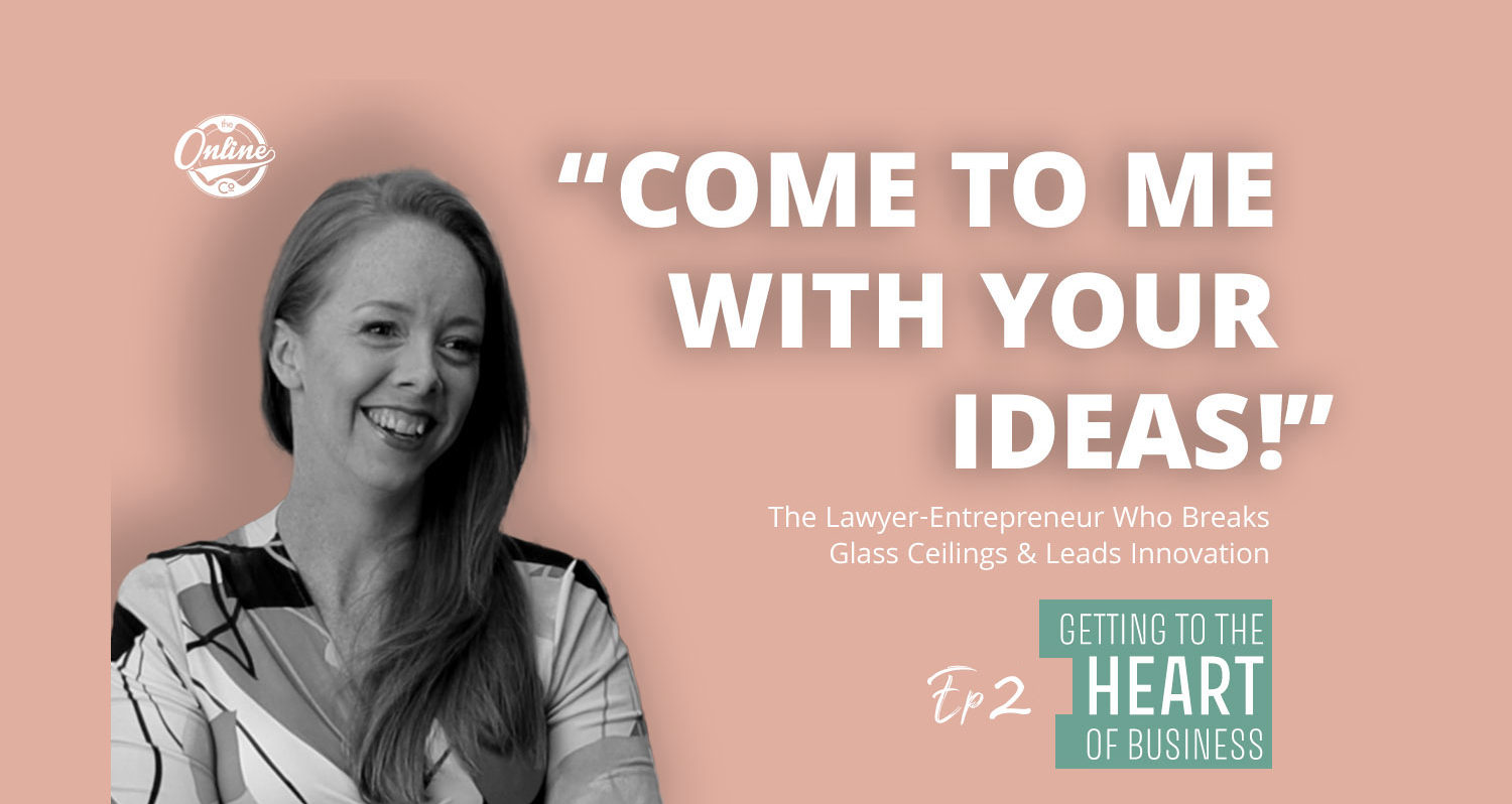 Getting To The Heart Of Business Podcast Banner Lawyer Amanda Little And Associates